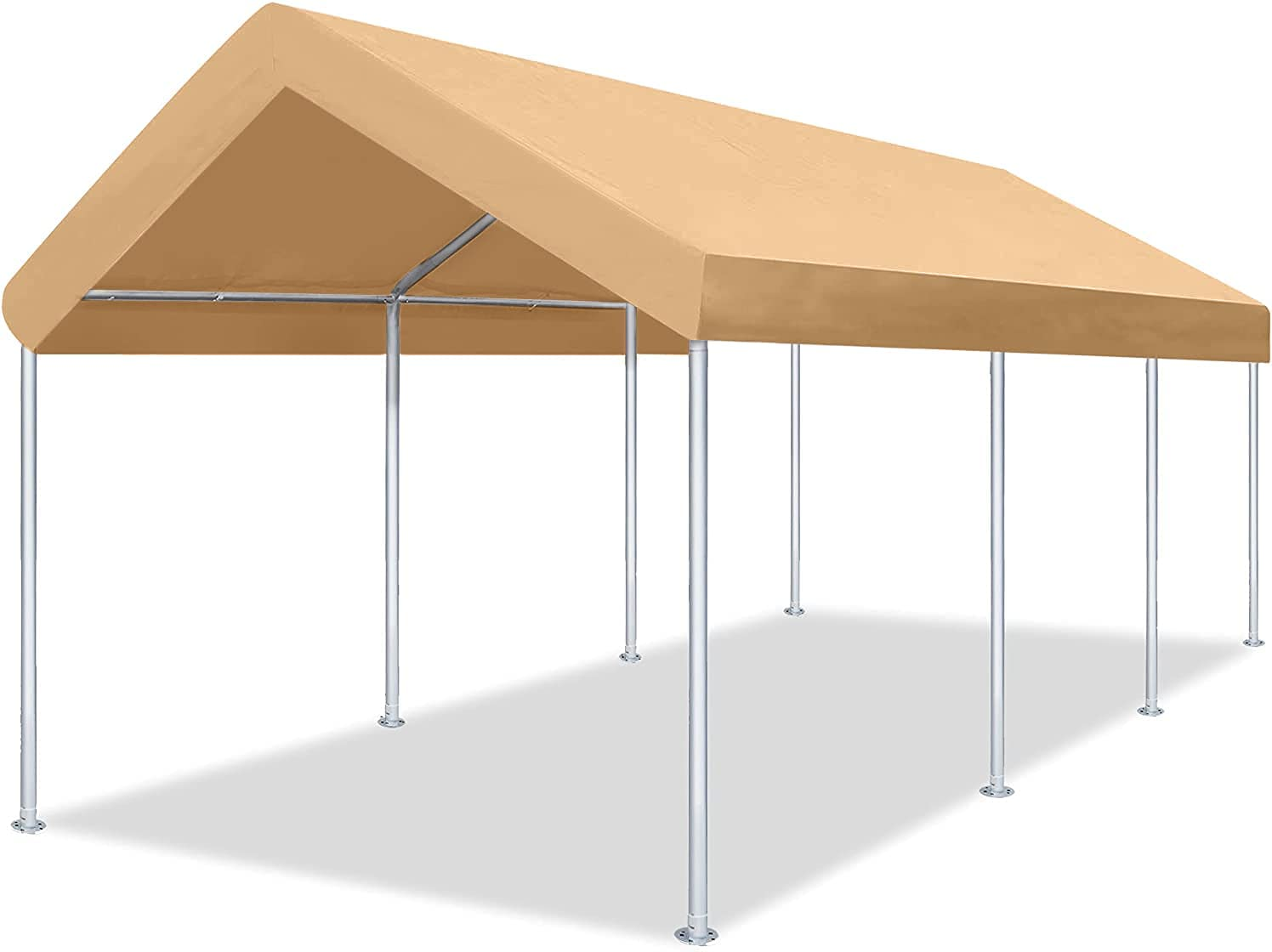 Washington Mall DOIFUN 12x20 Directly managed store Feet Heavy Duty Portable Garage Carport Car Canopy