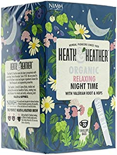 Heath And Heather Night Time Herbal Tea 20 Bags by Heath And Heather