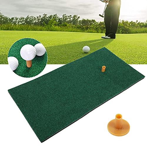 Vcriczk Golfmatte Wohnübungs-Schlagmatte, weiche und empfindliche Golfschlagmatte für Golf Strike
