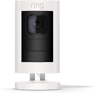 Ring Stick Up Cam Elite - Cámara de seguridad HD, comunicación bidireccional, alarma sonora, compatible con Alexa, color b...