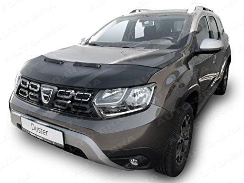 Auto-Bra AB3-00040 kompatibel mit Dacia Duster II Bj. ab 2018 Haubenbra Steinschlagschutz Tuning Bonnet Bra