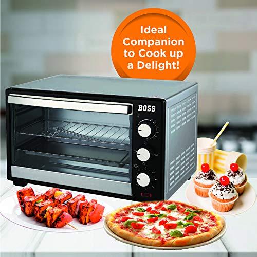 Boss Desire 19-L Oven Toaster Griller OTG (Black)