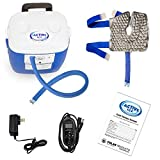 Polar Active Ice 3.0 Cold Therapy Ice Machine System with Programmable Timer, Knee and Joint Compression Pad, Lightweight 16 Quart Cooler, Quiet Pump, Strong Cyrotherapy Pain Relief Treatment