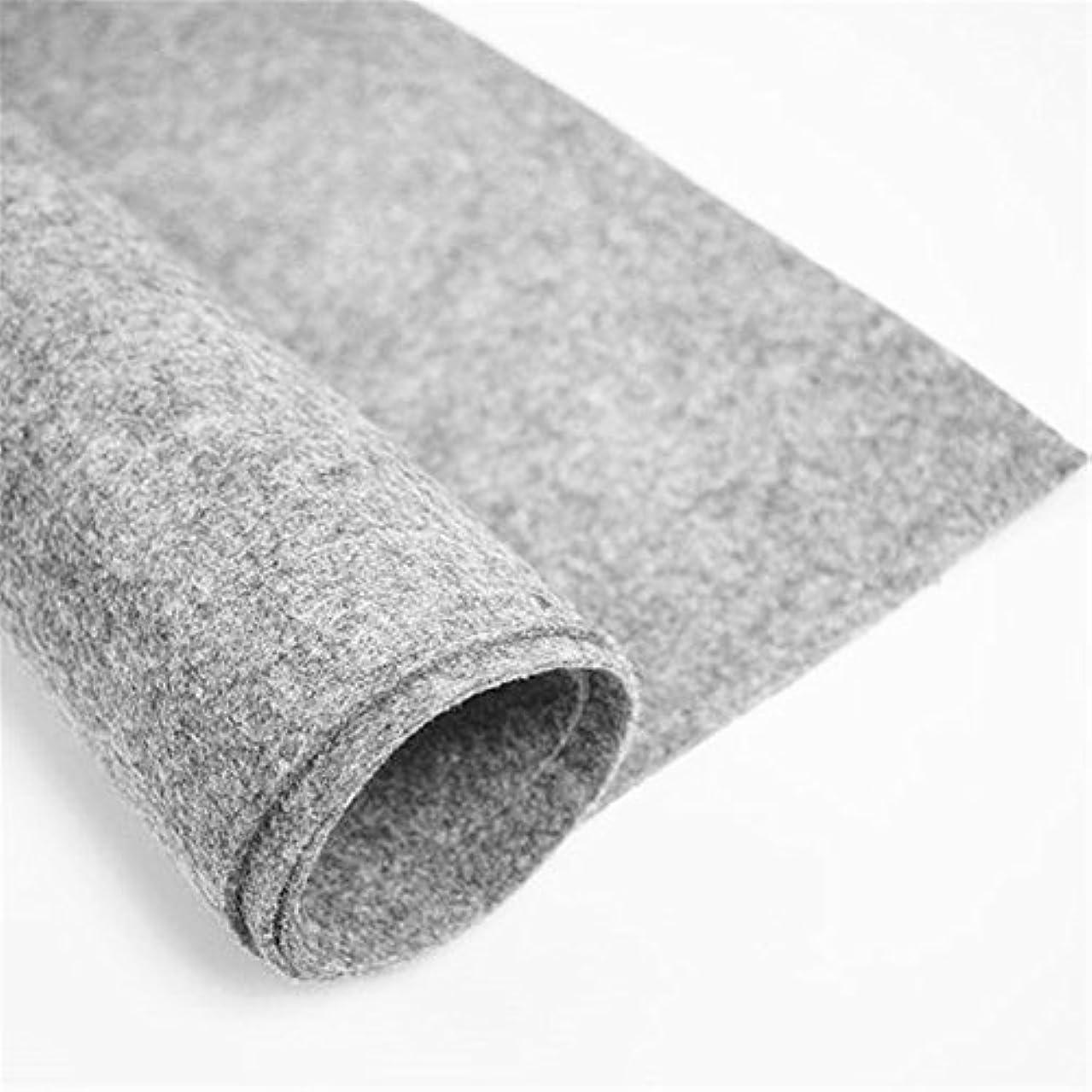 Felt Fabric 3 mm Thick, Light Grey Craft Felt Cloth Non-Woven Wool Felt Fabric Sold by The Yard (3 mm Thick, Light Grey)