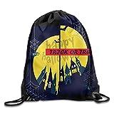 Bolsas de Verano con cordón de Nailon para Halloween Spider, para Adolescentes, de la Marca Dutch ars Trick or Treat