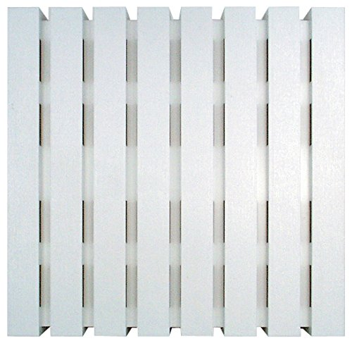 Craftmade CL-W Designer Loud 2 Note Door Chime for Larger Homes, White (7.88'H x 7.88'W)