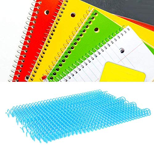 Atyhao - 20 anillas de encuadernación de plástico, 30 agujeros, anillas de encuadernación de plástico para hojas móviles, primaveras, anillas en espiral para papel A4