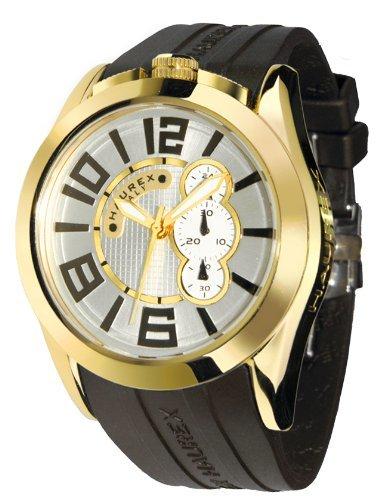 HAUREX ITALY Blaze Silver Dial Watch #3G333USY- Orologio da uomo