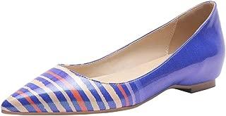 Melady Fashion Women Shoes Low Heels Slip On Post Pumps