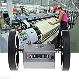 KINWAT 1 unidad Z96-F Mecánico Longitud Medidor de Distancia Contador Doble Rueda De Rollo 0-9999.9m M13 Droship