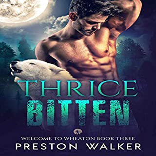 Thrice Bitten audiobook cover art