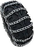 TireChain.com ATV UTV Tire Chains ATV518 Studless (No V-Bar) 24X9X11 25X10X12 24X11X10 24X11X9 25X8X12 24x11x11 24x11x12 25x10x11 25x11x9 25x11x12 26x9x12 26x9x14 26x10x12 26x10x14