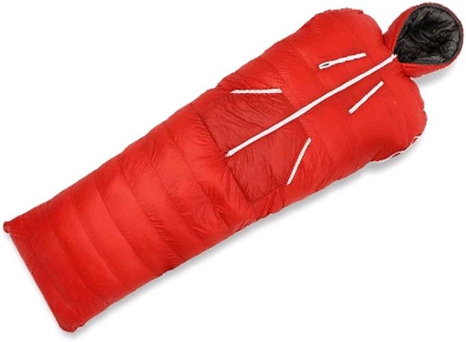 SHUIDAI Vers le bas sac de couchage adulte extérieur ultra léger atteindre sac de couchage épais chaud intérieur camping canard vers le bas sac de couchage humain en forme de sac de couchage