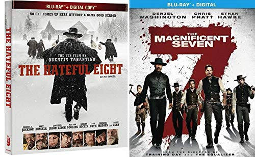 Magnificently Hateful BLU-RAY 2 Pack: The Magnificent Seven & The Hateful Eight Double Feature Bundle