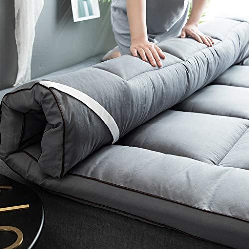 CVNJSKDKH Japanische Boden Futon Matratzen, faltbar Thick Doppel Tatami-Matte Schlafen Doppelseitige Breath Startseite Stereo Quilting Matratze (Color : A, Size : 150×200cm)