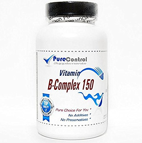 B-Complex 150 // 200 Capsules // Pure // by PureControl Supplements
