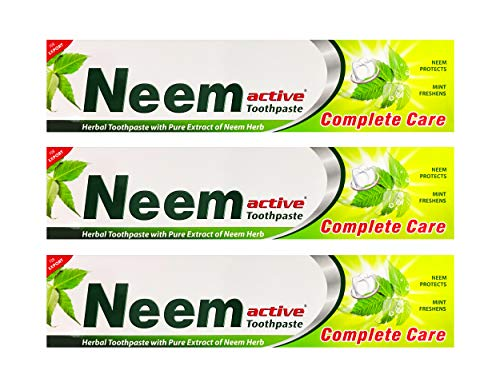 Neem Active Toothpaste 200 Grams Pack of 3