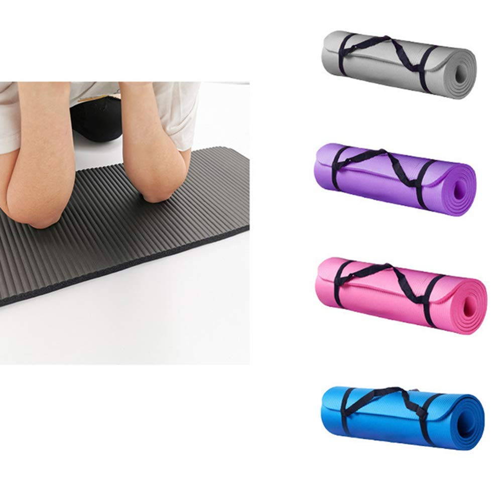 Thick And Durable Yoga Mat Anti-Skid Sports Exercise Fitness Mat To Lose Weight