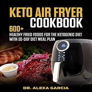 Keto Air Fryer Cookbook cover art