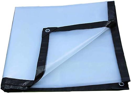 WZHTARPAULIN Bache Imperméable Transparent épais Plat Climatisation Cloison Fenêtre Plastique Bois Balcon Serre Film D'isolation 120 G   M2 Multi-Taille en Option (Taille   3x10m)
