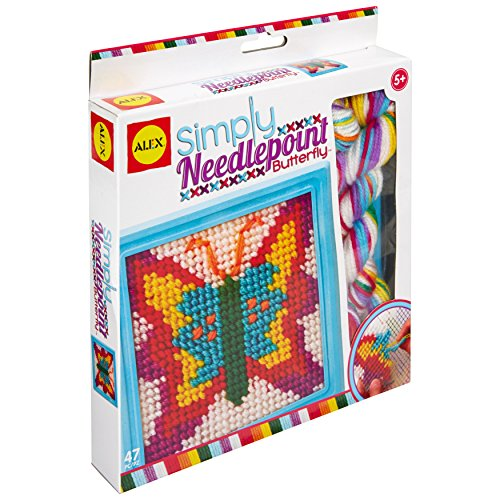 Alex Craft Simply Needlepoint Butterfly Kids Art and Craft...