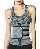 RIBIKA Womens Waist Trainer Corset Waist Tight Abdominal Control Cincher Trimmer Wraps Girdle Belt Weight Loss