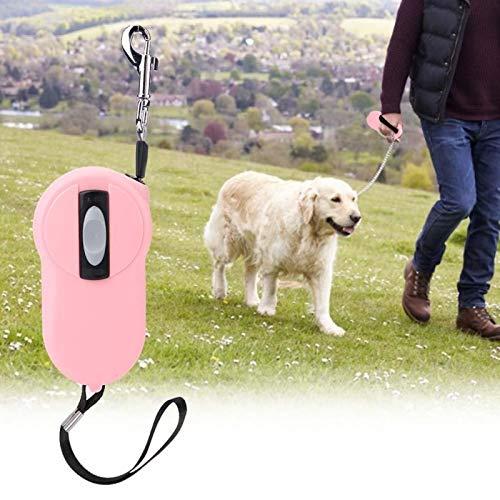 SALUTUYA Haustier verlängern Haustier liefert Seil Verwicklungsfreies Nylonband(Pink)