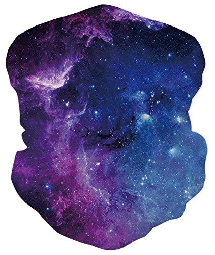 Idgreatim Teenager Halstuch Kopftuch UPF 50+ Gesicht 3d Flame Grafik Stirnband Schal Sport Kopfbedeckung Headwrap Multifunktions Nahtlose Bandanas für Staub Wind Sonnenschutz