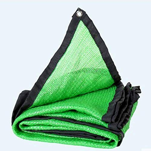 Syxfckc 80% del paño en Color Verde es la Sombra del Sol Sombra for invernaderos Techo cochera sombreado de Efecto Invernadero (Color : A, Size : 3x6m)