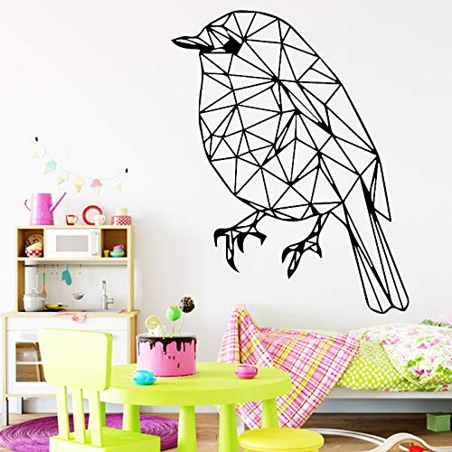 JXWH dierpatroon creatieve vogel muursticker kinderkamer achtergrond accessoires zelfklevende muursticker vinyl sticker poster