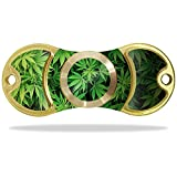 MightySkins Vinyl Decal Skin Compatible with EDC Fidget Spinner – Weed | Protective Sticker Wrap for Your Fidget Toy Amilife Outdoo | Easy to Apply Cover
