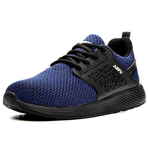 Arbeitsschuhe Herren Damen mit Stahlkappe Sicherheitsschuhe S3 Unisex Leicht Sportlich Atmungsaktiv Schutzschuhe Industrie Handwerk Schuhe