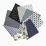 LINSUNG 8st 50 x 50 cm Patchwork Kleidung Baumwollstoffe