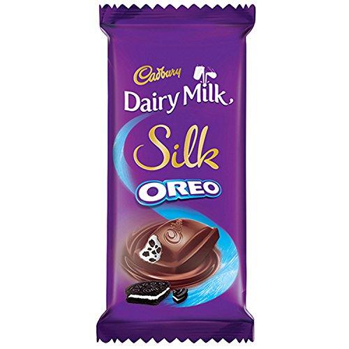 Cadbury Dairy Milk Silk Oreo Chocolate Bar, 60 g