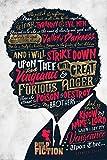 Theissen Ezekiel Pulp Fiction Poster, Multi-Colour – Matte Poster Frameless Gift 11 x 17 pulgadas (28 x 43 cm) *IT-00311