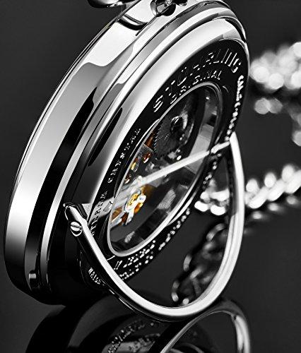 Stuhrling Original 6053.33113 - Montre Mécanique - Affichage Analogique - Bracelet Acier inoxydable...