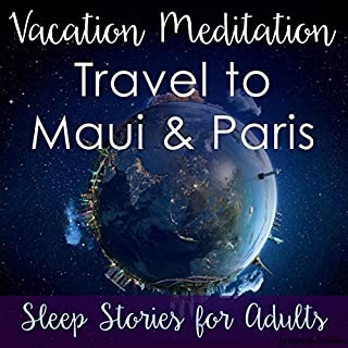 Vacation Meditation: Travel to Maui and Paris audiobook cover art