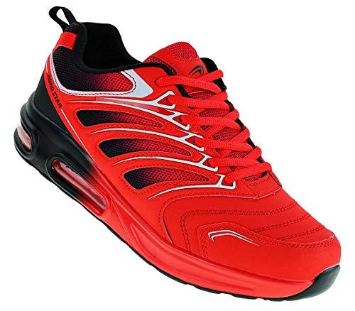 Roadstar 894 Neon Luftpolster Turnschuhe Schuhe Sneaker Sportschuhe Herren, Schuhgröße:45
