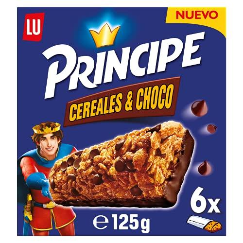 Principe Barritas De Cereales, 6 x 120 g
