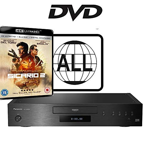 Panasonic DP-UB9000 MULTIREGION for DVD Blu-ray Player Bundle with...