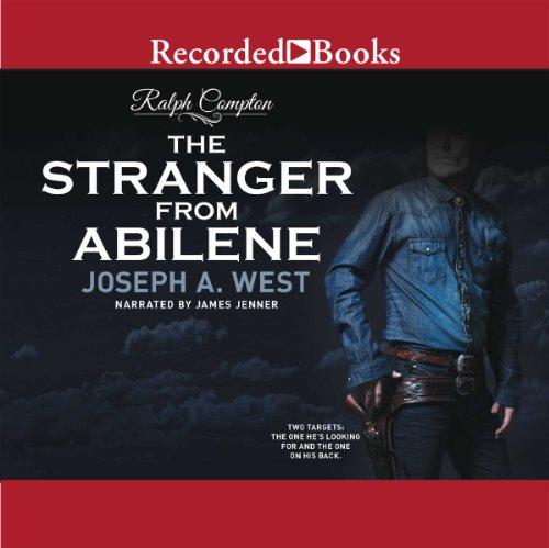 The Stranger from Abilene audiobook cover art