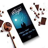 Quantity: 90 gms What better way to express your feelings than gifting your loved ones a Chocolate Bar which says it all..!! This delectable Dark Chocolate with a heart warming packing is what you need..!! Ingredients : Sugar, Hydrogenated Vegetable ...