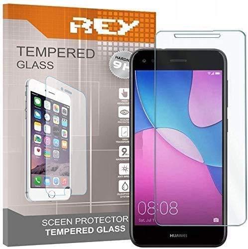 REY 3X Protector de Pantalla para Huawei P9 Lite Mini/Huawei Y6 Pro...