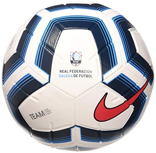 Nike NK Strk TM RFGF Palloni da calcio, Adulti, Unisex, Multicolor+(White/Dark Blue/Red), 5