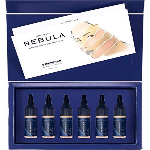 Maquiagem para aerógrafo Nebula Complexion Set 6 colors, Kryolan, Complexion 1
