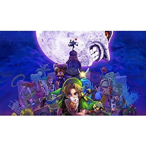 QINGQING The Legend of Zelda: Mask Gifts Jigsaw Puzzles Gioco Halloween di Majora (Size : 300)