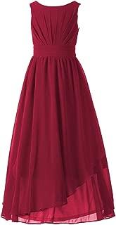 Happy Rose 7-16 Chiffon Girls Junior Bridesmaid Dress
