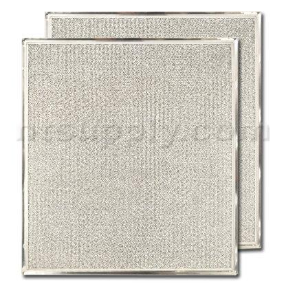 "GE Aluminum Range Hood Filter - 11-3/4"" X 12-7/8"" X 3/32"" - WB2X8422"