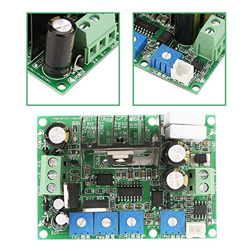 SUNTAOWAN Válvula Tablero de Conductor, 7-30V Fuerza Ajustable Controlador de válvula electromagnética Placa de Circuito con OTP Placa de función Drive for Control de accionamiento del electroimán de