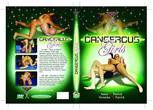 French Topless mixed wrestling - Dangerous girls (Female vs Male) DVD Amazon's Prod